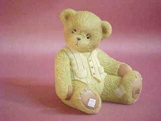 grandpa Cherished Teddies Figurine
