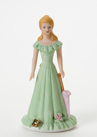 Growing Up Girls  Enesco Birthday Figurines