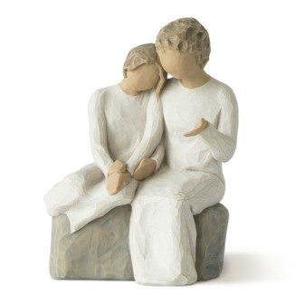 Brother and Sister  Willow Tree Figurines